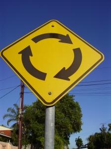 Darwin roundabout